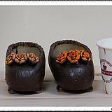매헌 수제화분 꽃신셋트 69062 Handmade Flower pot