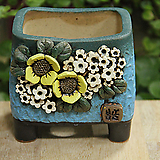 봄날공방 수제화분 사각분|Handmade Flower pot