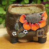 봄날공방 수제화분 사각낮은분|Handmade Flower pot