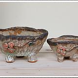 매헌수제분 2종셋트 69127 Handmade Flower pot