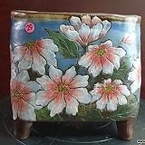 날개 수제 화분 (환원소성) 29|Handmade Flower pot