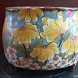 날개 수제 화분 (환원소성)9|Handmade Flower pot