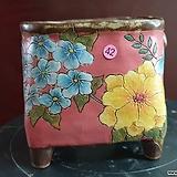 날개 수제 화분 (환원소성) 42|Handmade Flower pot