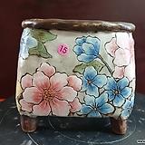 날개 수제 화분 (환원소성)15|Handmade Flower pot