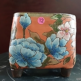 날개 수제 화분 (환원소성)12|Handmade Flower pot