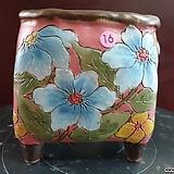 날개 수제 화분 (환원소성) 16|Handmade Flower pot