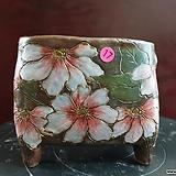 날개 수제 화분 (환원소성) 17|Handmade Flower pot