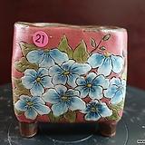 날개 수제 화분 (환원소성) 21|Handmade Flower pot