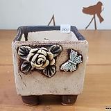 사각수제화분4920 Handmade Flower pot