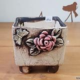 사각수제화분4921 Handmade Flower pot