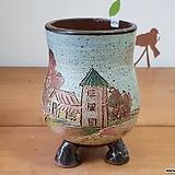풍경수제분4923 Handmade Flower pot