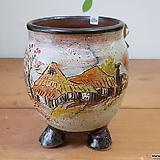 풍경수제분4924 Handmade Flower pot
