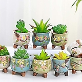 수제화분 바람꽃(9color)|Handmade Flower pot