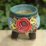 봄날공방 수제화분 작은주물럭분|Handmade Flower pot