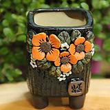 봄날공방 수제화분 사각소분|Handmade Flower pot