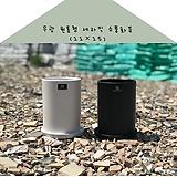 111 무광 원통형 세라믹 소품 화분11×15|
