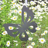 호랑나비 - 정원장식 철제 마당 화단 꽃밭 연못 꾸미기 홈가드닝 인테리어소품 