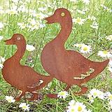 오리 대, 중, 소 - 정원장식 철제 마당 화단 꽃밭 연못 꾸미기 홈가드닝 인테리어소품 