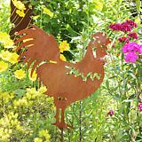 수탉 - 정원장식 철제 마당 화단 꽃밭 연못 꾸미기 홈가드닝 인테리어소품 
