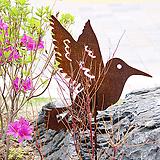 벌새 - 정원장식 철제 마당 화단 꽃밭 연못 꾸미기 홈가드닝 인테리어소품 