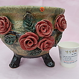 수제화분 (중형) 07-032|Handmade Flower pot