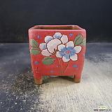 수제화분(라인칼라분)36|Handmade Flower pot