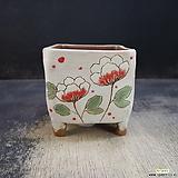 수제화분(라인칼라분)42|Handmade Flower pot