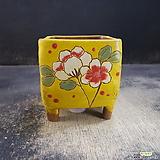 수제화분(라인칼라분)40|Handmade Flower pot