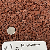 천연화산석 벽돌색 약5-10mm 1kg(화장토,복토,마감토,장식돌,장식자갈)|