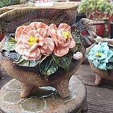 란 수제화분 세일 (LAN) 꽃코사지 도장이 떨어졌어요 No.0052 [premium handmade] - 다육화분 Handmade Flower pot