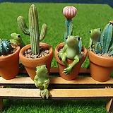 가든데코(개구리 4종)|