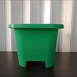 녹색사각플라스틱화분, 사각플분, 튼튼플분, 화분, 사각화분, 플분, 녹색화분|