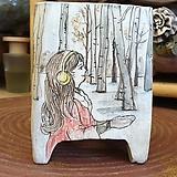 란 수제화분  (LAN) 그림분  No.0003 [premium handmade] - 다육화분 Handmade Flower pot