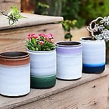 수제화분 투톤2 (4color)|Handmade Flower pot