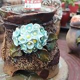 란 수제화분 세일 (LAN) 꽃코사지 작은사이즈 No.0027 [premium handmade] - 다육화분 Handmade Flower pot