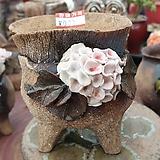 란 수제화분 세일 (LAN) 꽃코사지 No.0029 [premium handmade] - 다육화분 Handmade Flower pot
