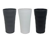 화분백화점 대형화분 플라스틱화분 칼라화분 고운 화이트 블랙 그레이|