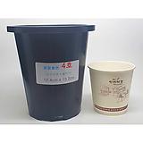 원형플분 4호(12.4cm) 플라스틱화분 포트 다육이화분 원예용 프라스틱화분|