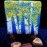 애플트리 휴화분,자작나무분,가을풍경분(크기8.2cm)(높이11.1cm)|