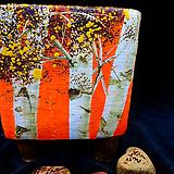 애플트리 휴화분,자작나무분,가을풍경분(크기9cm)(높이11.2cm)|