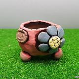꽃이다공방 명품 수제화분 콩분 #3558|Handmade Flower pot