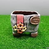 꽃이다공방 명품 수제화분 콩분 #3562|Handmade Flower pot