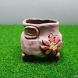 꽃이다공방 명품 수제화분 콩분 #3566|Handmade Flower pot
