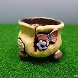 꽃이다공방 명품 수제화분 콩분 #3573|Handmade Flower pot
