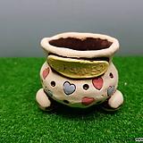꽃이다공방 명품 수제화분 콩분 #3585|Handmade Flower pot
