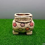 꽃이다공방 명품 수제화분 콩분 #3587|Handmade Flower pot