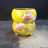 수제화분(라인칼라분)34|Handmade Flower pot