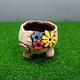 꽃이다공방 명품 수제화분 콩분 #3763