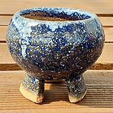 국산수제화분 파랑2호|Handmade Flower pot