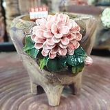 란 수제화분 세일 (LAN) 꽃코사지 No.11 [premium handmade] - 다육화분 Handmade Flower pot